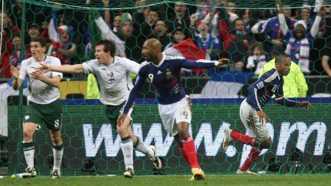 A look back at Thierry Henry's notorious handball 10 years on