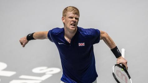 Edmund gives Great Britain winning start in Davis Cup quarter-final with Germany