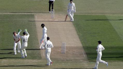 England v New Zealand Day Two: Williamson wicket boosts tourists
