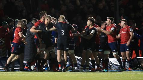 Investigation launched into mass brawl at Saracens-Munster clash