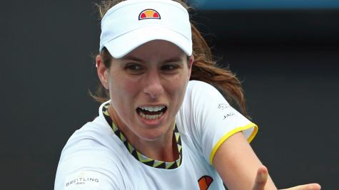 Konta and Edmund stumble at first hurdle in Melbourne
