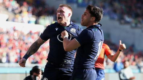 Stuart Hogg believes Scotland will kick on after victory in Rome
