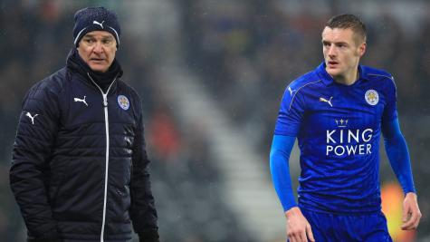 Vardy says he received death threats following Ranieri's Leicester exit