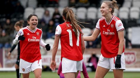 Vivianne Miedema scores six goals as Arsenal record 11-1 win over Bristol City