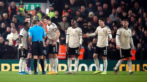 Manchester United charged by FA for incident during Liverpool defeat